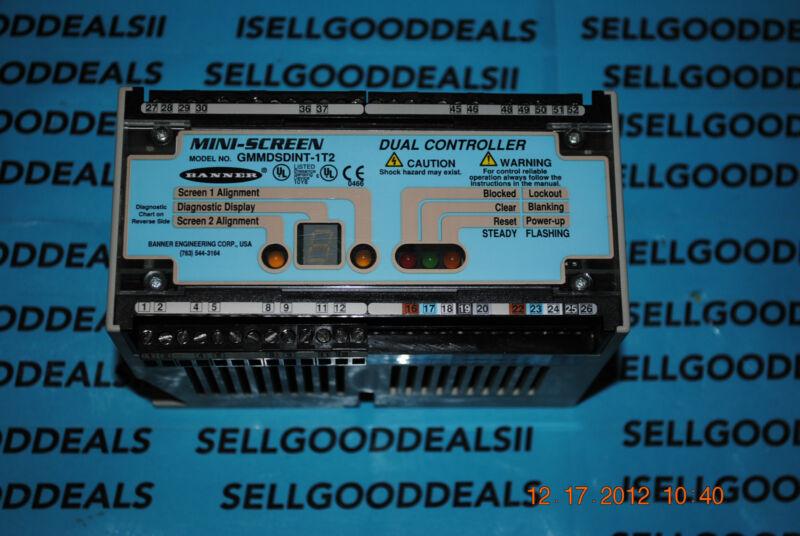 Banner Engineering GMMDSDINT-1T2 Mini Screen Dual Controller 57161
