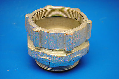 """3"""" Malleable Iron Compression Connector for Rigid & IMC Conduit Insulated Throat"""