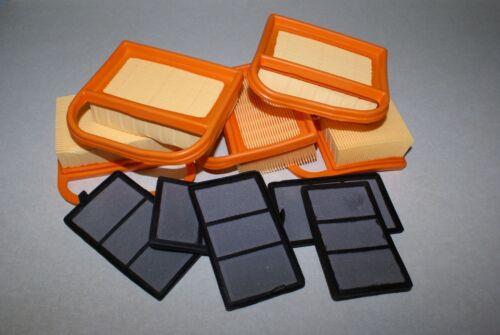 5 x STIHL TS410 TS420 TS 420 AIR FILTER SETS