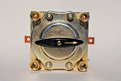 Electroswitch Cat. 125401aa Rotary Switch 60a. 500v.a.c. - 250v.d.c.