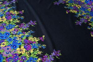 'WANDERLUST FLORAL' Repeat Print Lycra Fabric Approx 1.95m x 1.6m - Swimwear