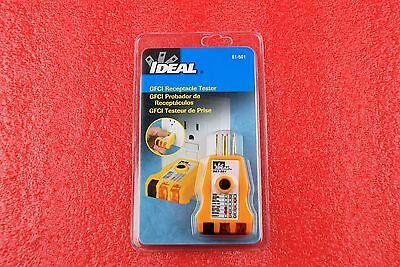 Ideal 61-501 Gfci Receptacle Tester 120ac Q098