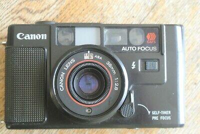 Canon Sureshot AF35M Camera 38mm 1:2.8 Lens WORKS BUT!