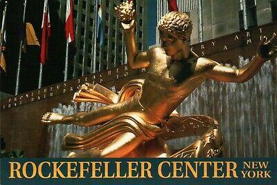 Center Postcard - PLEASE READ !!! New York City NY - Rockefeller Center - Continental Postcard