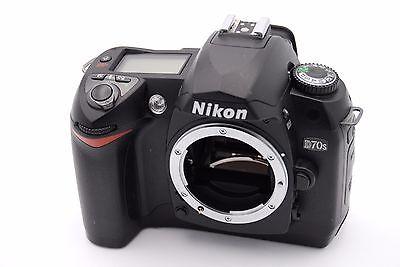 Nikon D D70s 6.1 Mp Digital SLR Kamera - Schwarz (nur Body Kamera Nikon D70s