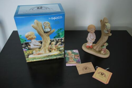 """Enesco 7"""" Lucie Attwell Memories of Yesterday I"""
