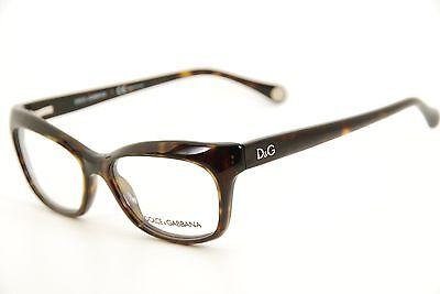 1fcb80ec2795 New Authentic Dolce & Gabbana DD 1232 502 Dark Havana 55mm Eyeglasses  Frames RX