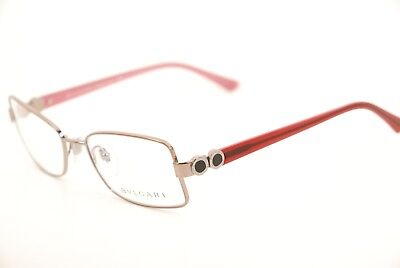 New Authentic Bvlgari 296 176 Violet-Pink/Red 53mm Frames Eyeglasses Italy RX