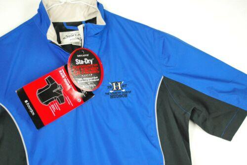 NWT Footjoy Dryjoys Sta-Dry Short Sleeve Rain Shirt Windbreaker Jacket Golf