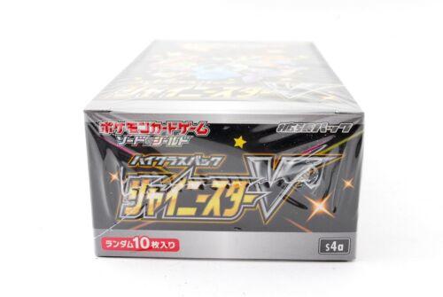 🐈pokémon Sealed Shiny Star V Booster Box  Japan S4a🐈