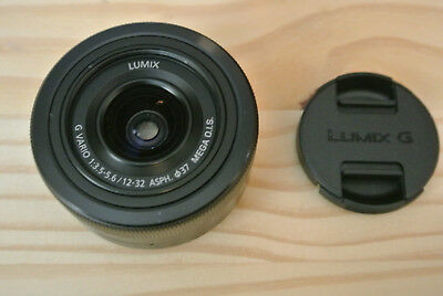 Panasonic Lumix G Vario 12-32mm f/3.5-5.6 ASPH. Lens - New - No Box