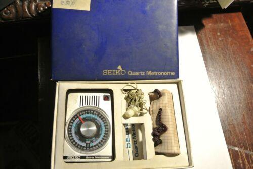 Seiko Metronome. Vintage. Complete.  rare. with original box.
