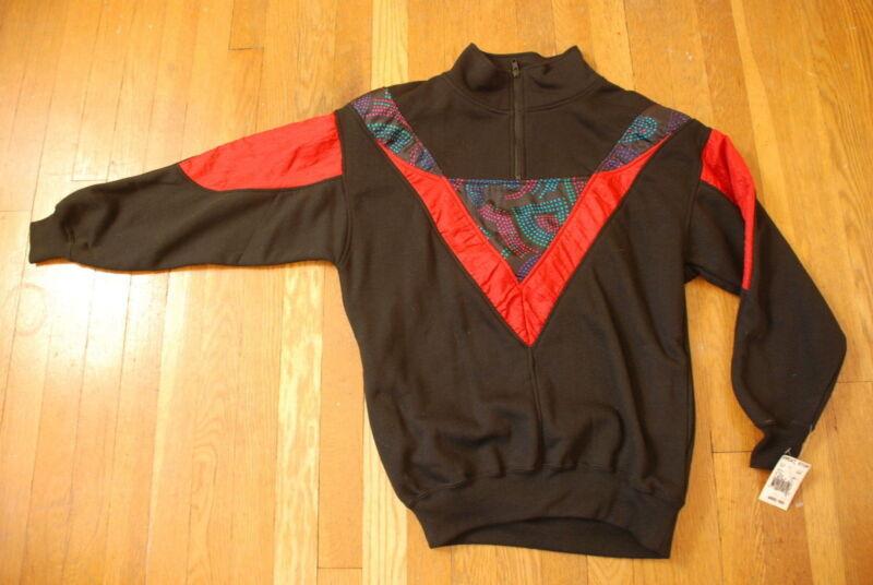 Vintage CHINAWEAR by MORSLY 80s print deadstock NTW Womens sweatshirt S