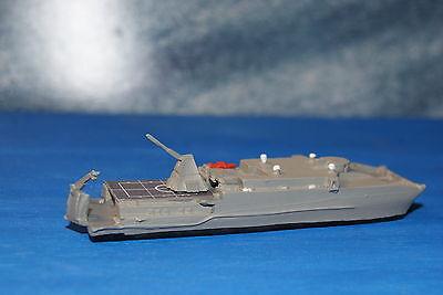 USNS Trenton EPF with Rail Gun Painted 1/1250 Waterline Model ship in Metal