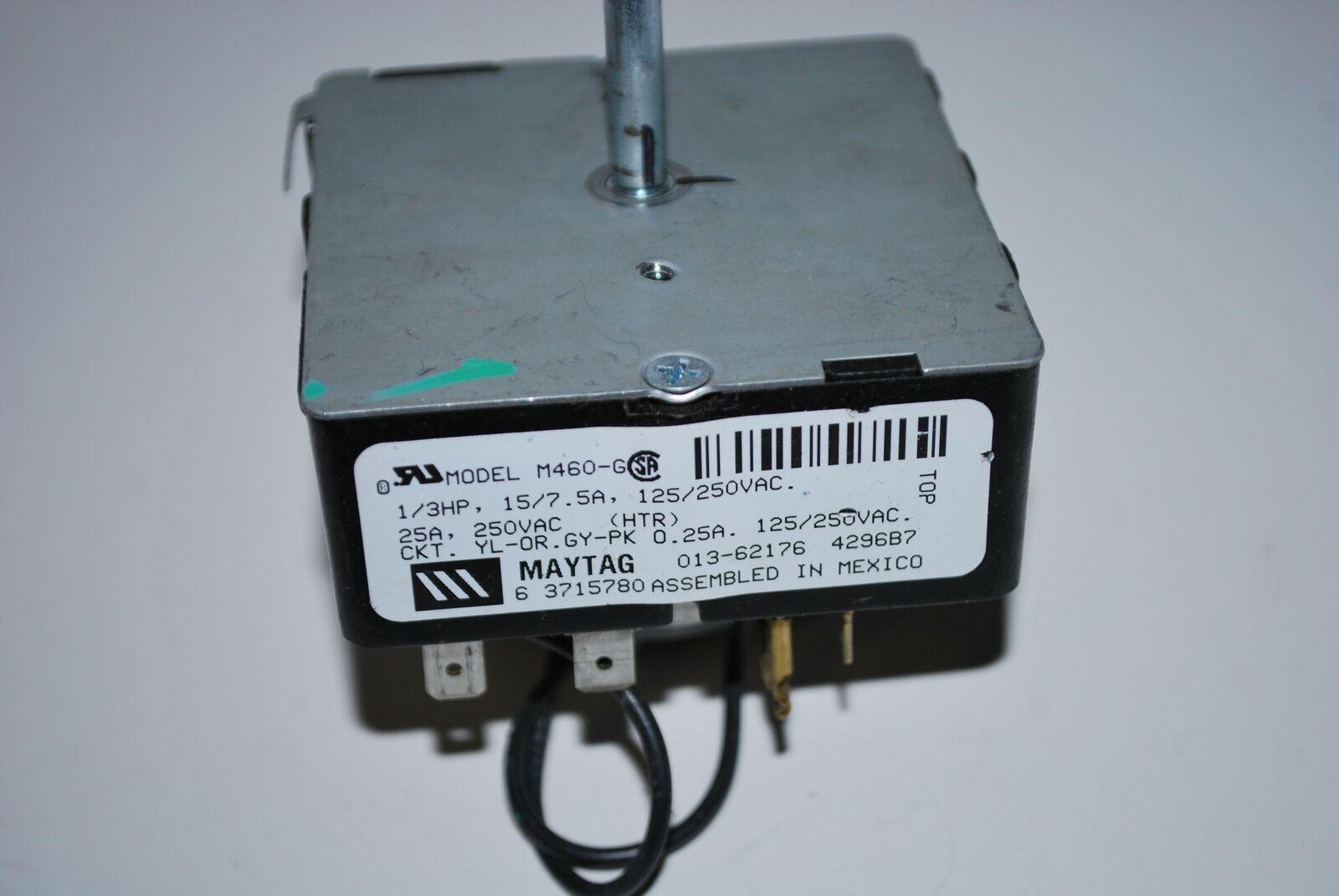 30 Day Warranty MAYTAG Dryer Timer 6 3715780