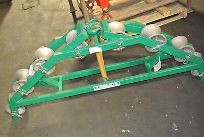 Greenlee 638 - 36 Radius Right Angle Conveyor Sleave Sheave