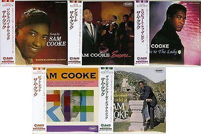 SAM COOKE-LOT OF 5 CD-JAPAN MINI LP CD SET 265