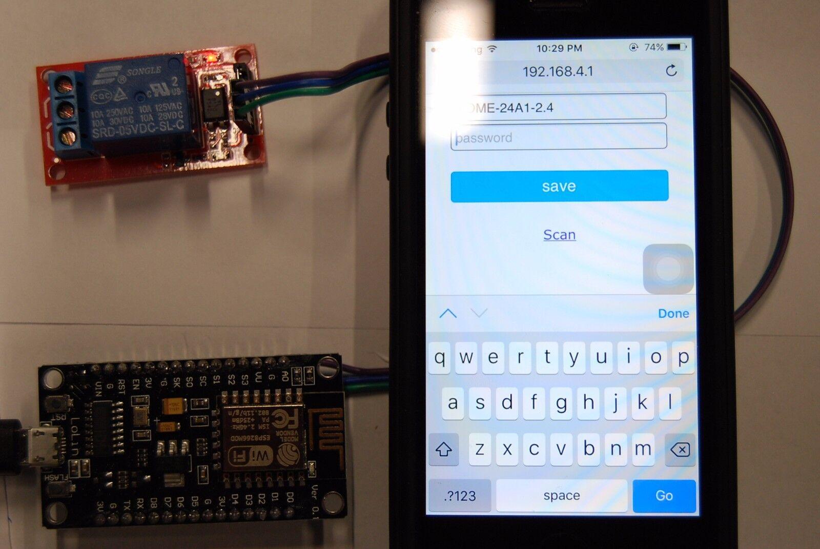 Instant Ready - Amazon Alexa Nodemcu ESP8266 WIFI Remote Control & Relay  Switch