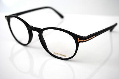 Tom Ford FT5294 001 Mens Round Designer Glasses