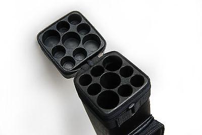 3x6 Hard Tube Billiard Case 3Butts 6Shafts Carry Pool Cue Stick Case - Cue Case