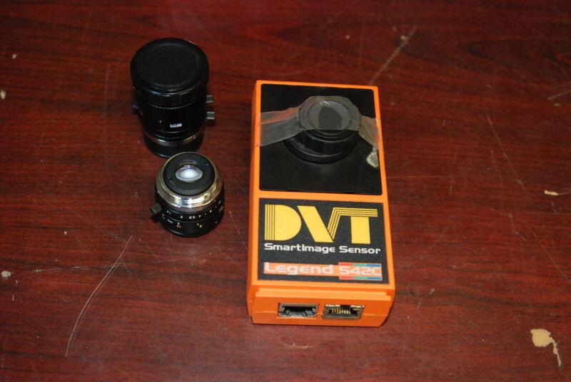 DVT, 542C, SmartImage Sensor, Comes with 2 lenses,