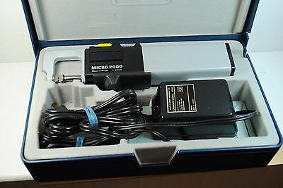Moore Wright Micro 2000 Digital Metric Micrometers