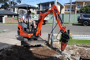 Excavator hire Sydney Sydney City Inner Sydney Preview