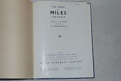 Купить The Book Of MILES Aircraft by A. H. Lukins (1946, Hardcover)