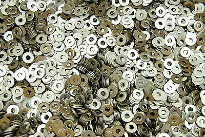 1000 Stainless Steel 6 Machine Screw 6-32 Flat Washer 18-8 Ss