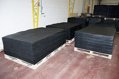 Rubber Stable Matting 6ft x 4ft 12mm Horse Mats, Hammer top finish. Delivered.