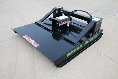 B-built Mfg Hd-60 Brush Buster Skid Steer Brush Mower