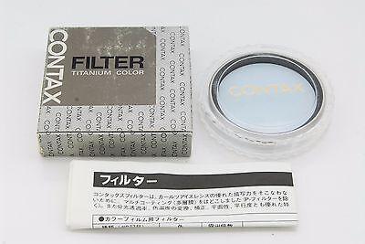 Фильтры [Mint] Genuine Contax Lens Filter