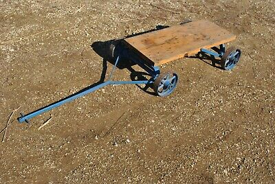 Galloway Bull Dog Style Gas Engine Hit Miss Cast Iron Hand Trucks