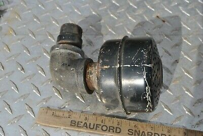 Vintage Briggs Stratton Style Hit Miss Gas Engine Steel Muffler