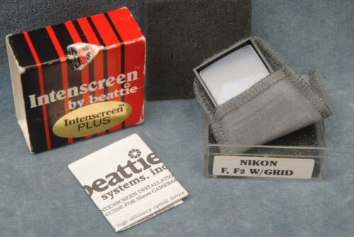 BEATTIE INTENSCREEN PLUS FOR NIKON F, F2 WITH GRID (PK2354)