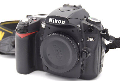 Nikon D D90 12.3MP Digital SLR Camera - Black (Body Only) for sale  Shipping to India