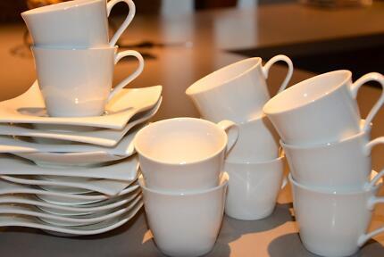 Espresso Cups Saucers