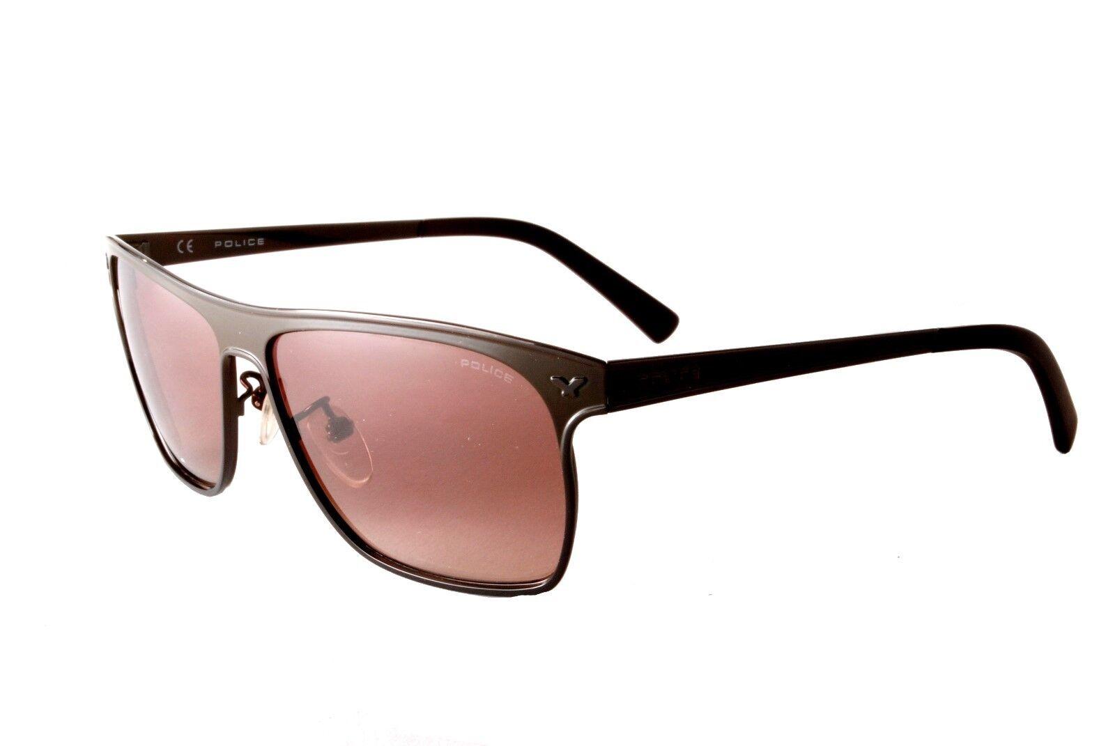 575cbc96374 Police Sunglasses History 1 S8948 596X Matt Brown Brown 883663718334 ...