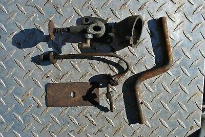 Original Fairbanks Morse Z D Hit Miss Gas Engine Hand Crank Parts Group