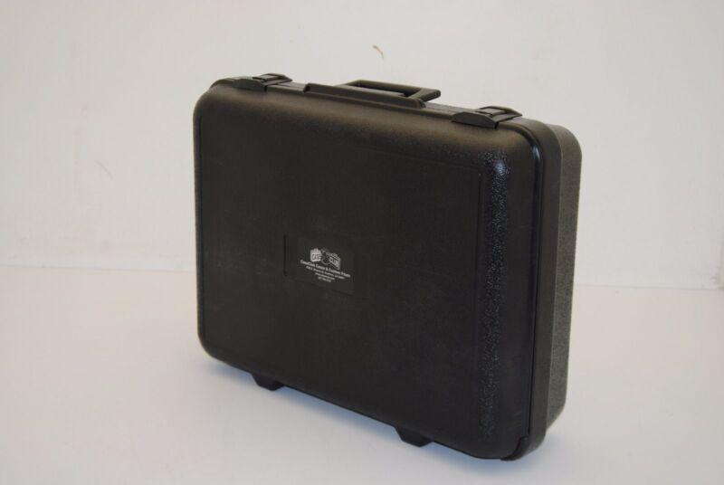 Case Club Blow Molded Plastic Carrying Case w/ Foam Insert, Lockable  NEW