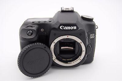 Canon Eos 50d 15.1 Mp 7.6cm Screen Digital SLR Kamera Körper Auslösungen Zähler 1000 Digitale Slr-kamera