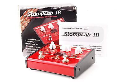 Vox StompLab IB Bass Multi Effects Pedal w/Box,Manual Used In Japan Stomp Lab
