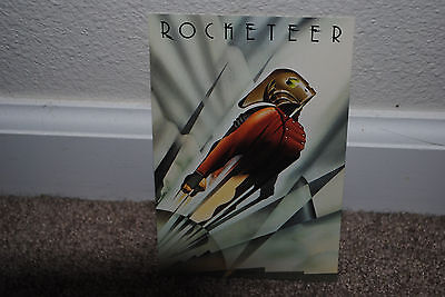 The Rocketeer 1991 Limited Edition Preview Poster Art Offer Postcard Mint