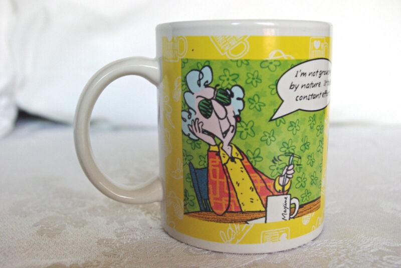 Maxine 2 Cartoon Coffee Tea Mug from Hallmark Never Used Displayed Only