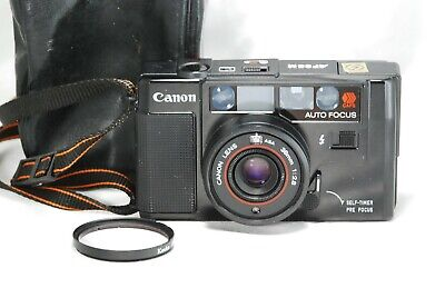 [ MINT ]  Canon AF35M 38mm f/2.8 35mm Point & Shoot Film Camera from Japan A162