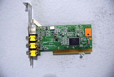HAUPPAUGE IMPACT VCB 558 PCI Video Capture Card 64405 LF REV C1 00558