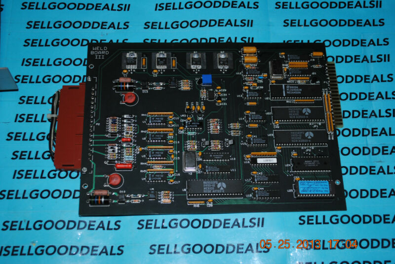 Uticor Technology 75e29 Welder Control Board Used