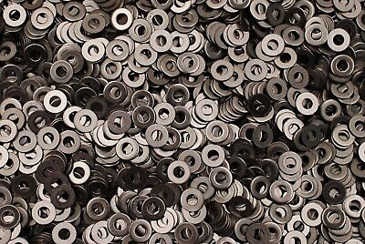 (1000) Stainless Steel #8 Machine Screw 8-32 Flat Washer 18-8 SS ()