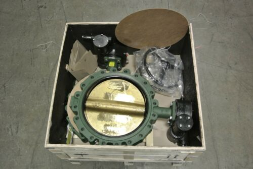 "20"" Crane Center Line 20BG664315 Lug Butterfly Valve DI x Al Bz NEW MB (2524)"
