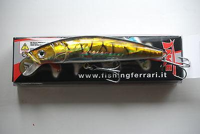 Zander  ca 10cm 15g Barsch SyMa-Fishing Wobbler Kunstköder für Hecht
